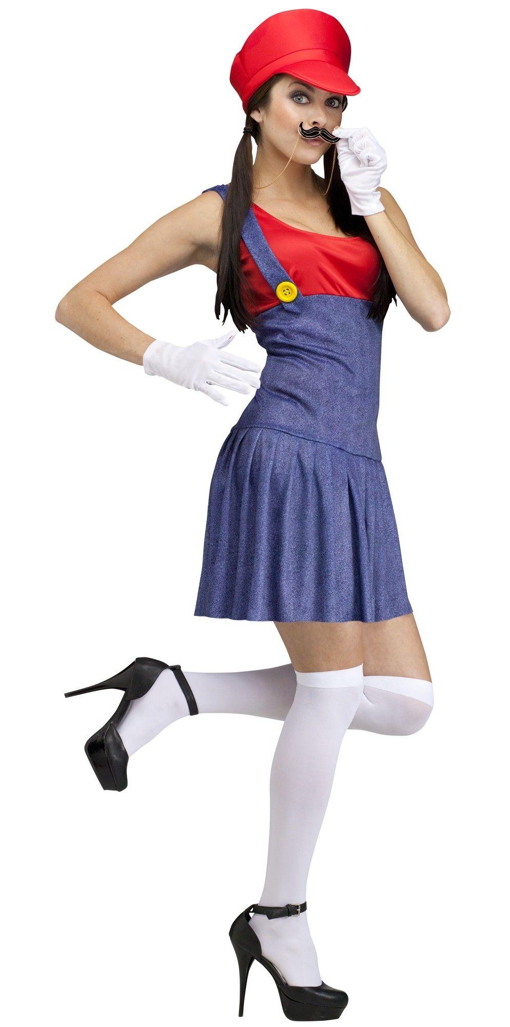Женский костюм Марио (44) - Герои видеоигр, р.44