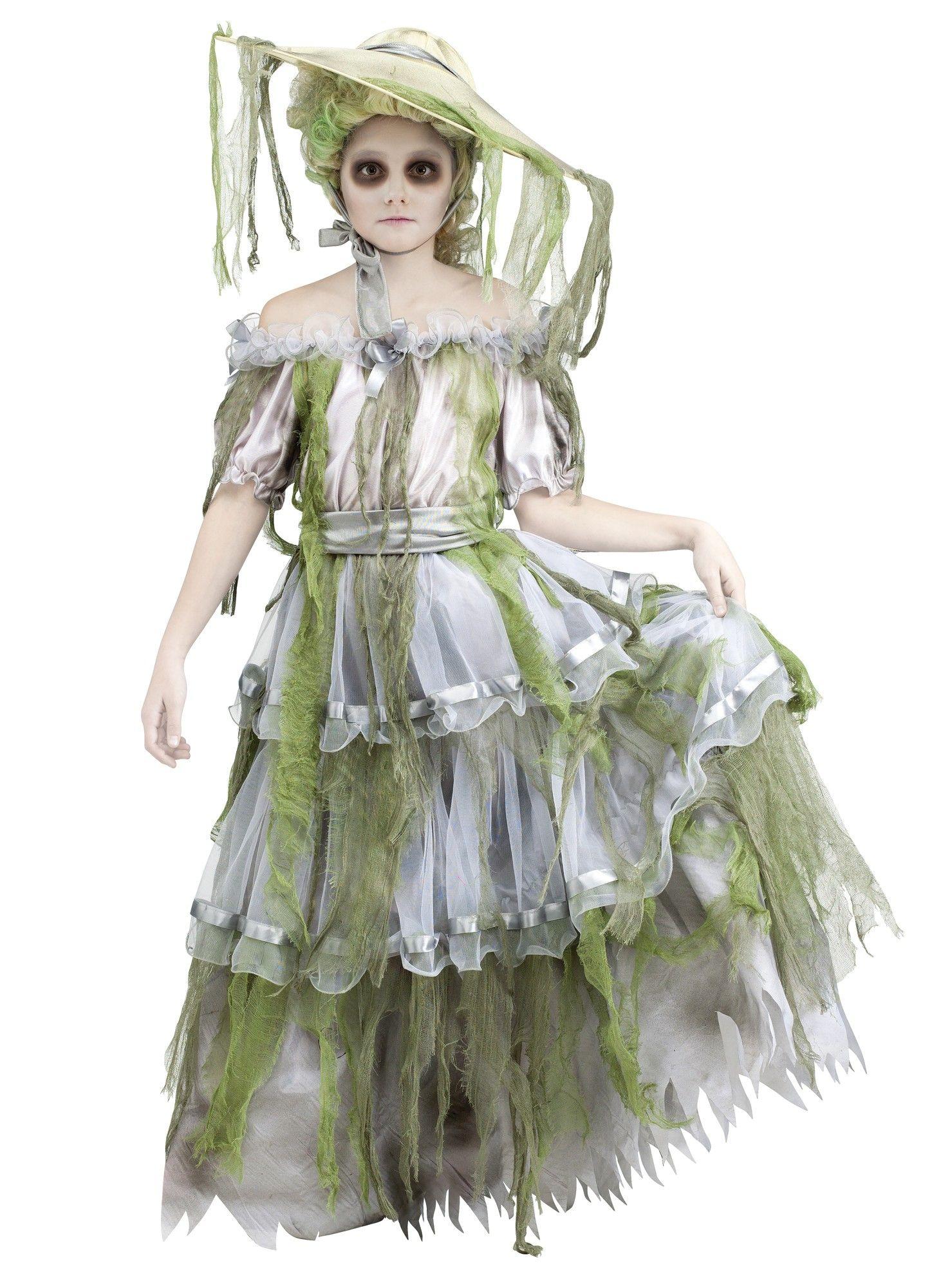 Детский костюм Зомби-Южной красавицы (40) - Сказочные герои, р.40