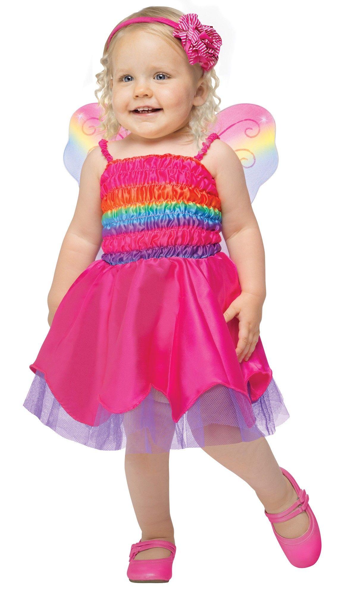 Костюм малышки Радужной бабочки (26-28) костюм радужной клоунессы 46 48