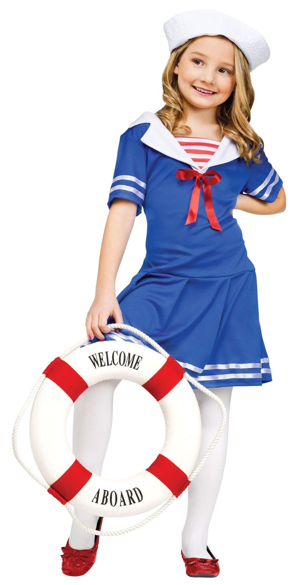 Детский костюм Морячки (34-38) детский костюм клоуна весельчака 38