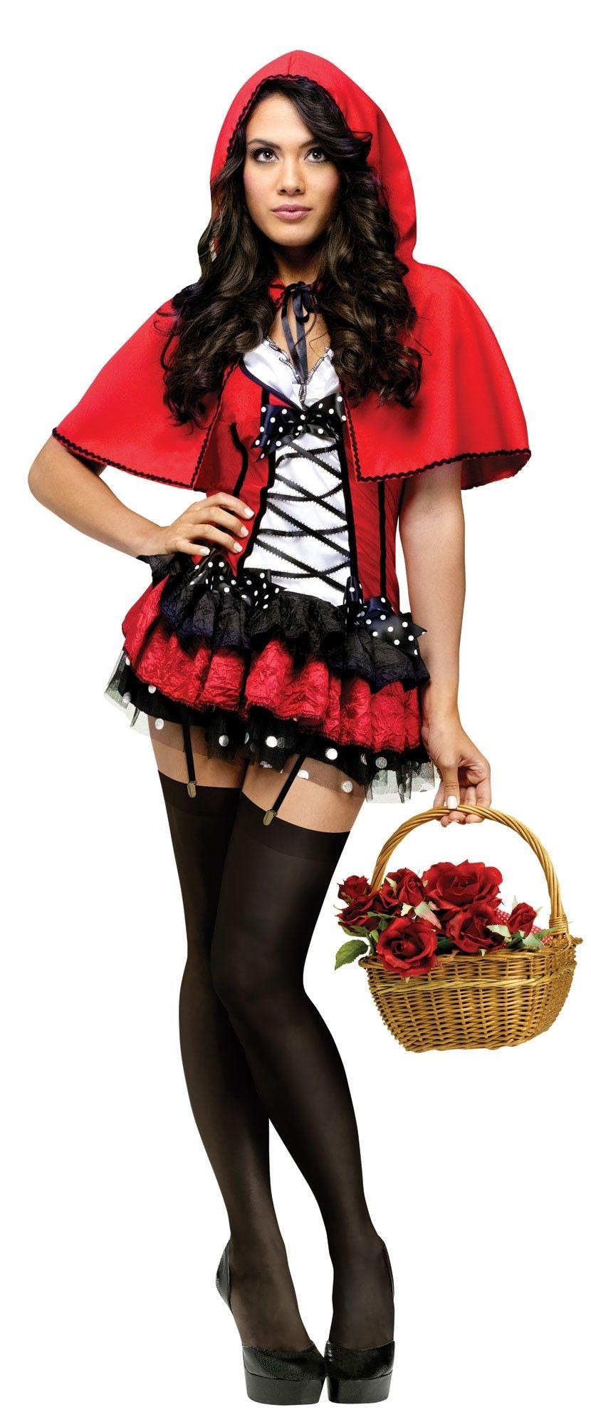 Костюм скромной Красной Шапочки (40-42) костюм прекрасной шапочки 30