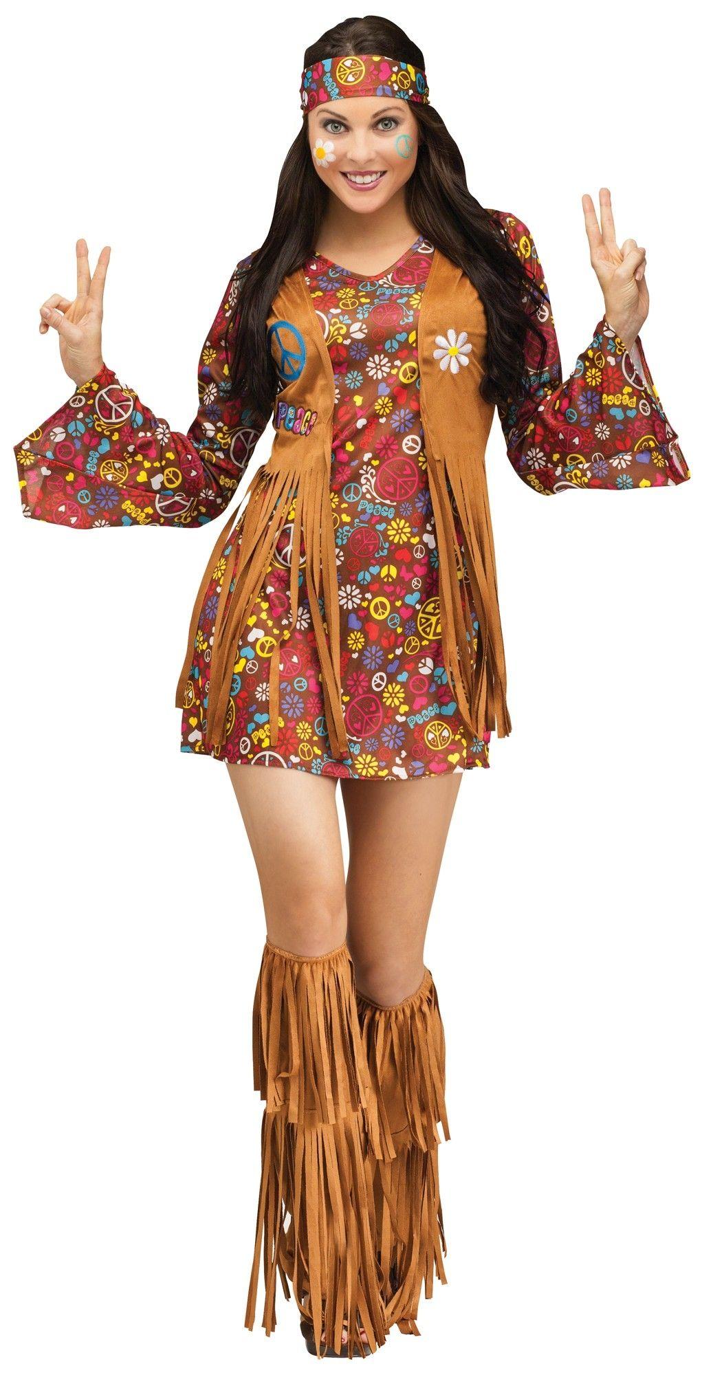 Костюм Хиппи Мир И Любовь (46-48) костюм цветочной хиппи 48