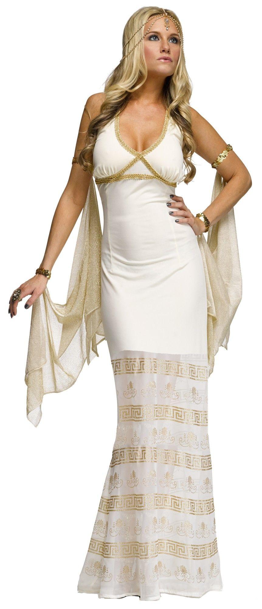 Костюм изящной золотой Богини (48) костюм богини олимпа в уфе