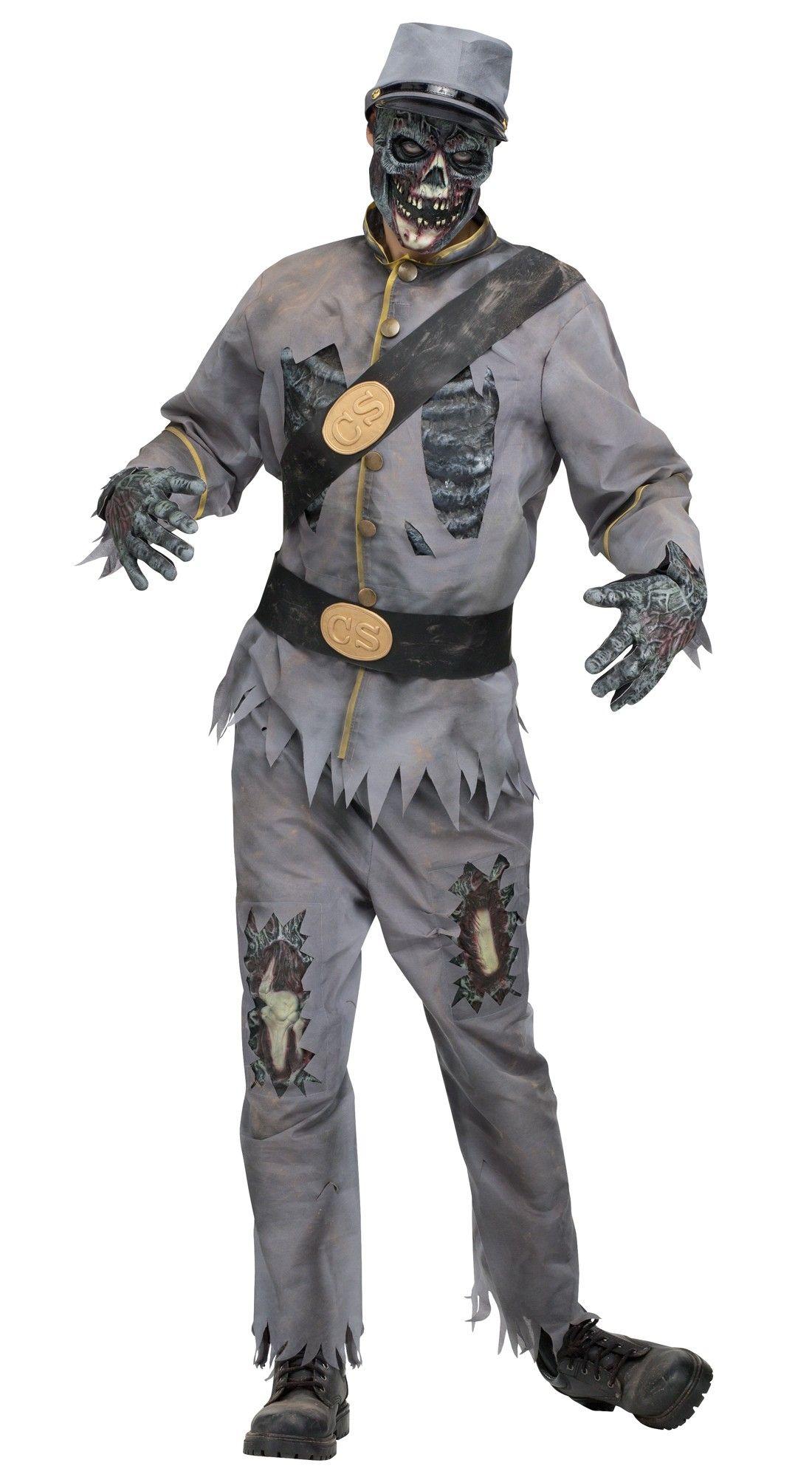 Костюм конфедерата Зомби (42-52) недорого
