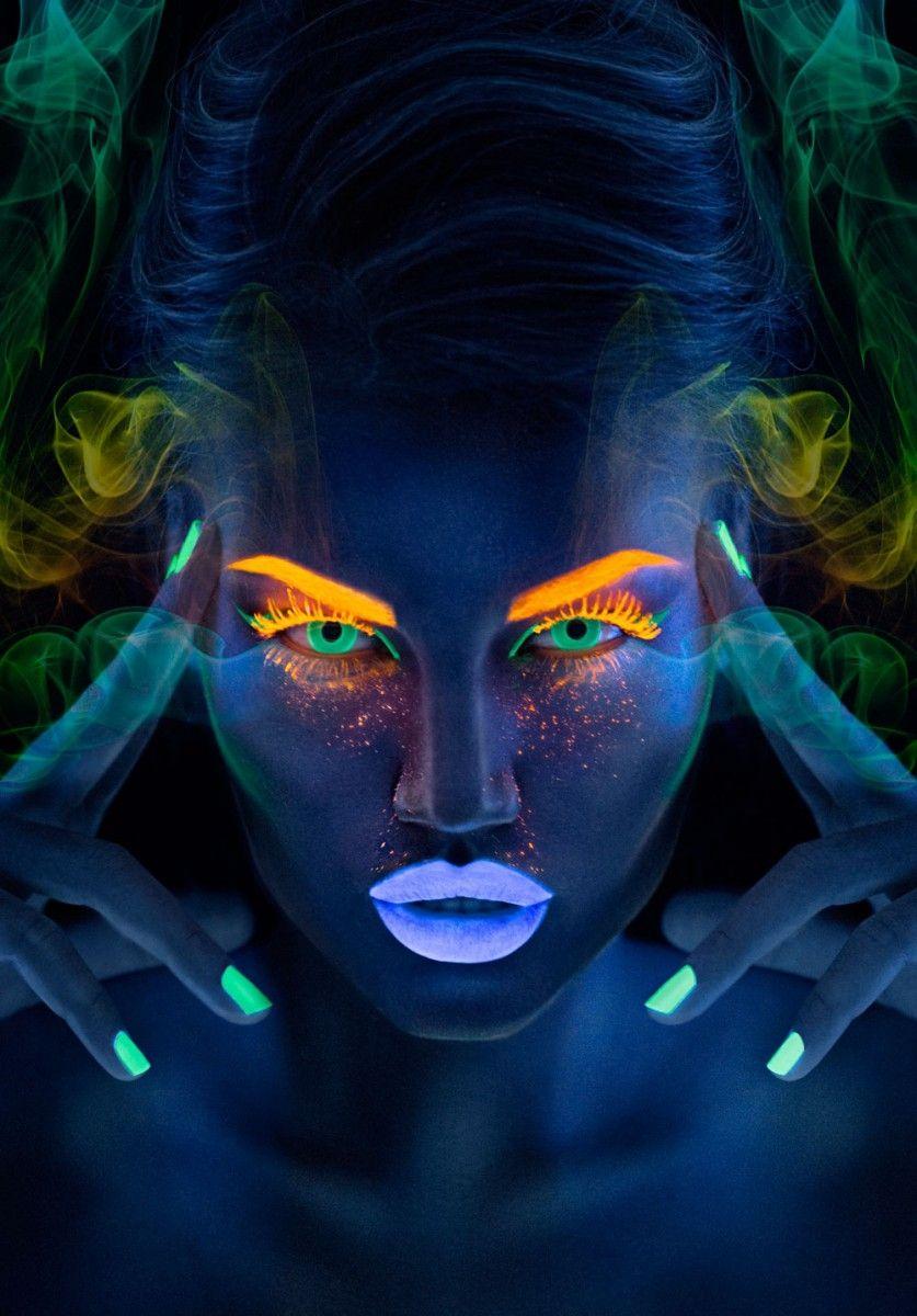 Неоновые линзы Neon Green - Линзы