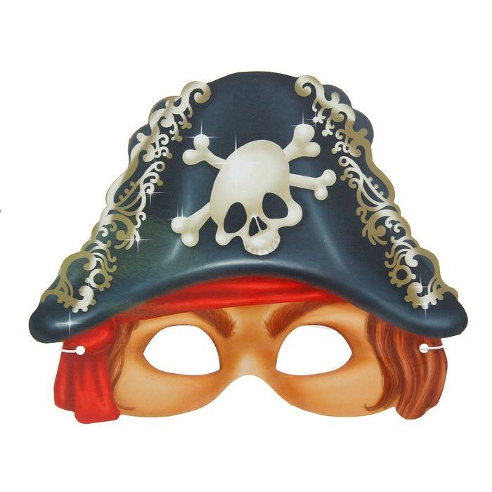 Маска морского разбойника (UNI) плащ и маска штурмовик uni