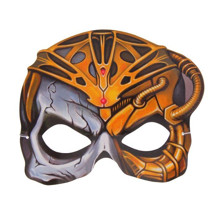 Маска страшного Кибер Черепа (UNI) маска черепа с рукой uni