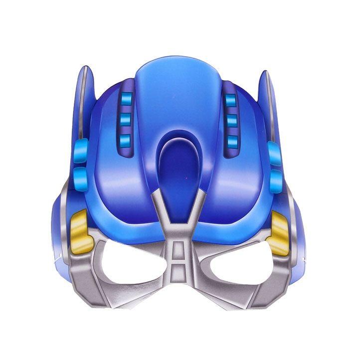 Маска Трансформера синяя от Vkostume