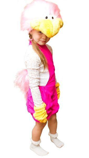 Розовый костюм Страуса (32-34) детский костюм джульетты 32 34