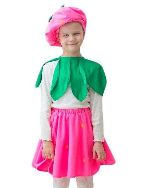 Детский костюм клубнички (32-34) детский костюм фиолетовой феи виндс 34