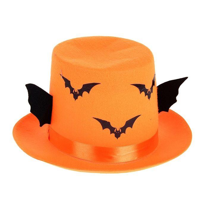 Карнавальная шляпа Летучая Мышь - Аксессуары на Хэллоуин