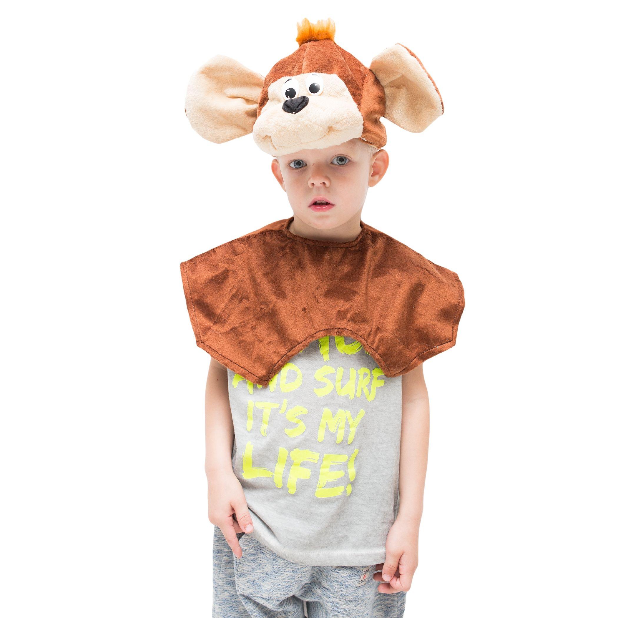 Детская шапка Обезьянка (28-30) fancy сумка рюкзак детская обезьянка