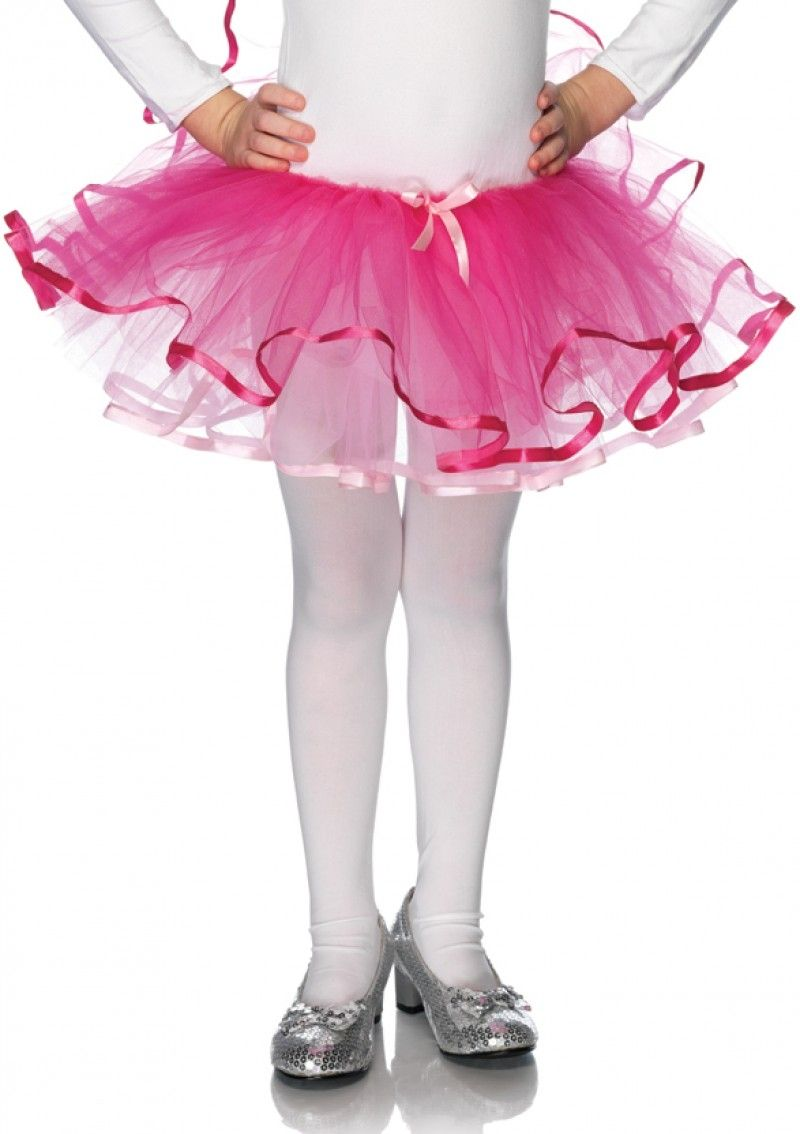 Розовая детская юбочка Туту - Подъюбники и юбки