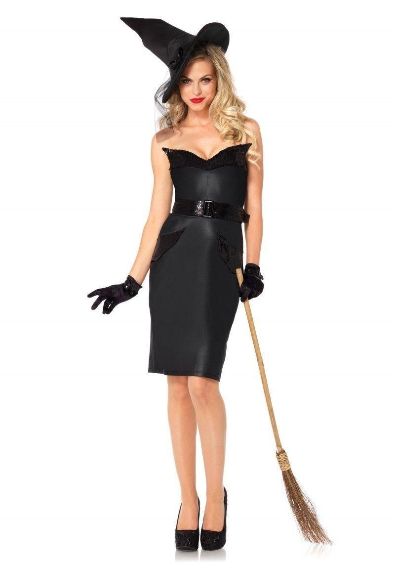 Винтажный костюм ведьмочки (42-44)
