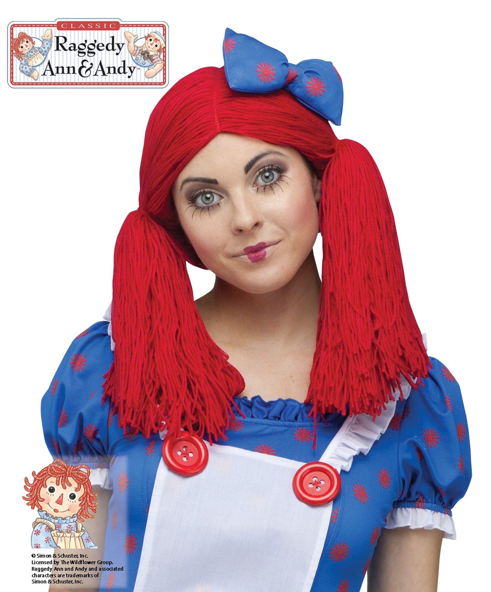 Парик куклы Реггеди Энн от Vkostume