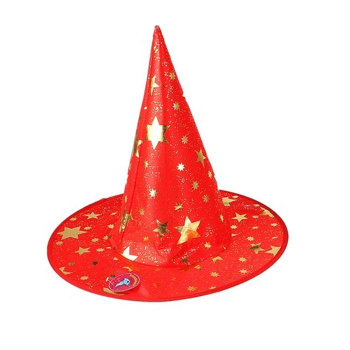 Красная шляпа со звездами (UNI)