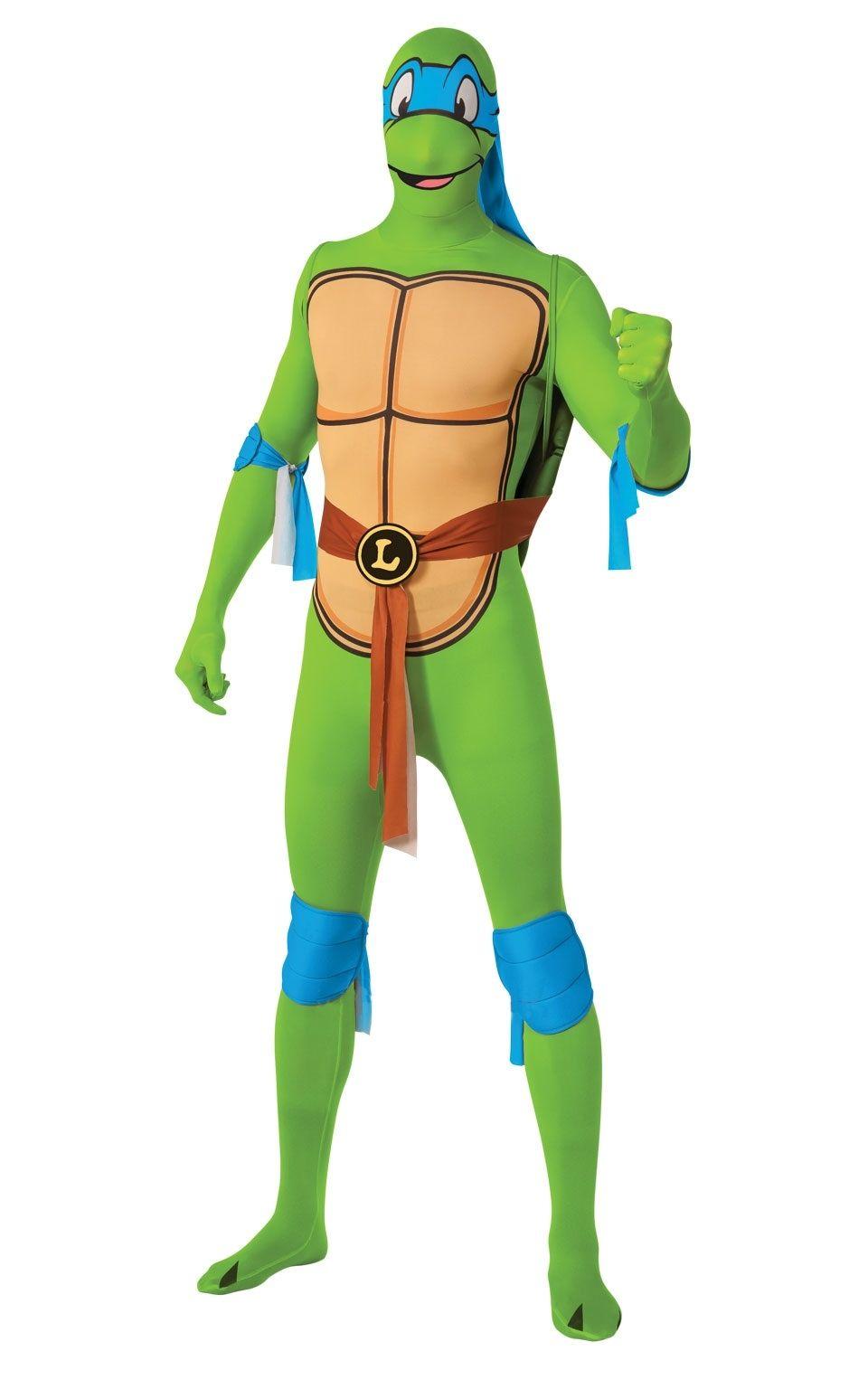 Костюм второй кожи Черепашка Леонардо (50-52) костюм карнавальный черепашка ниндзя