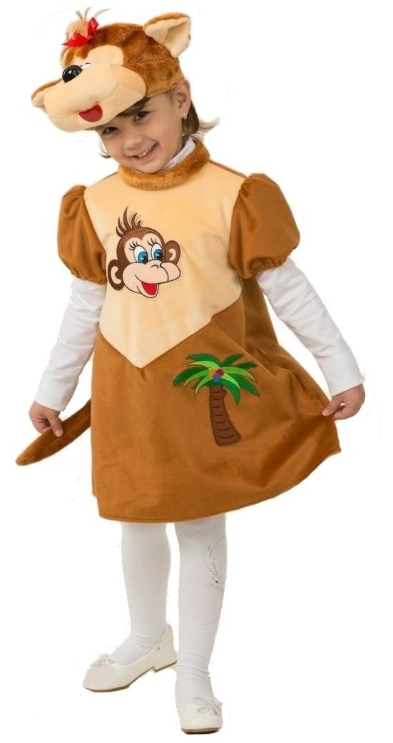 Детский плюшевый костюм обезьянки (26-28) детский костюм озорного клоуна 34
