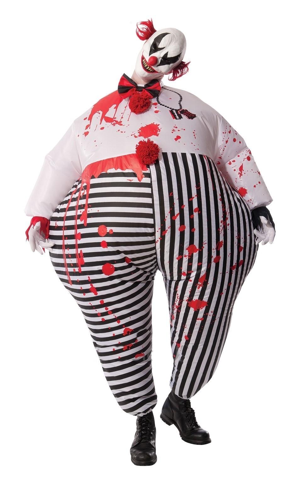 Надувной костюм кровожадного клоуна (52)