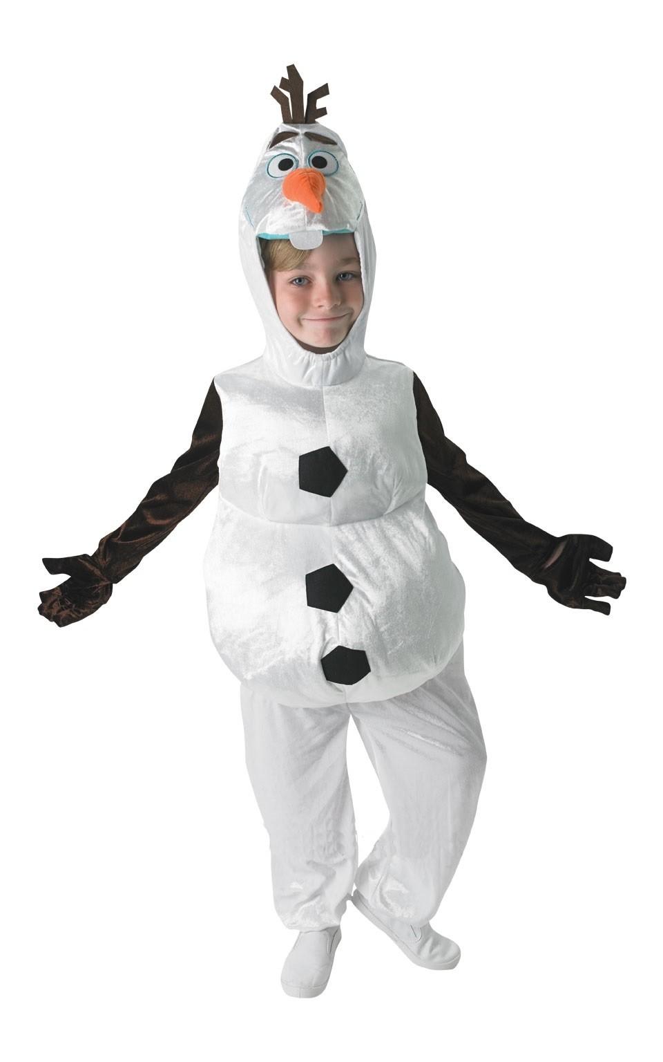 Детский костюм снеговика Олафа (S) - Сказочные герои
