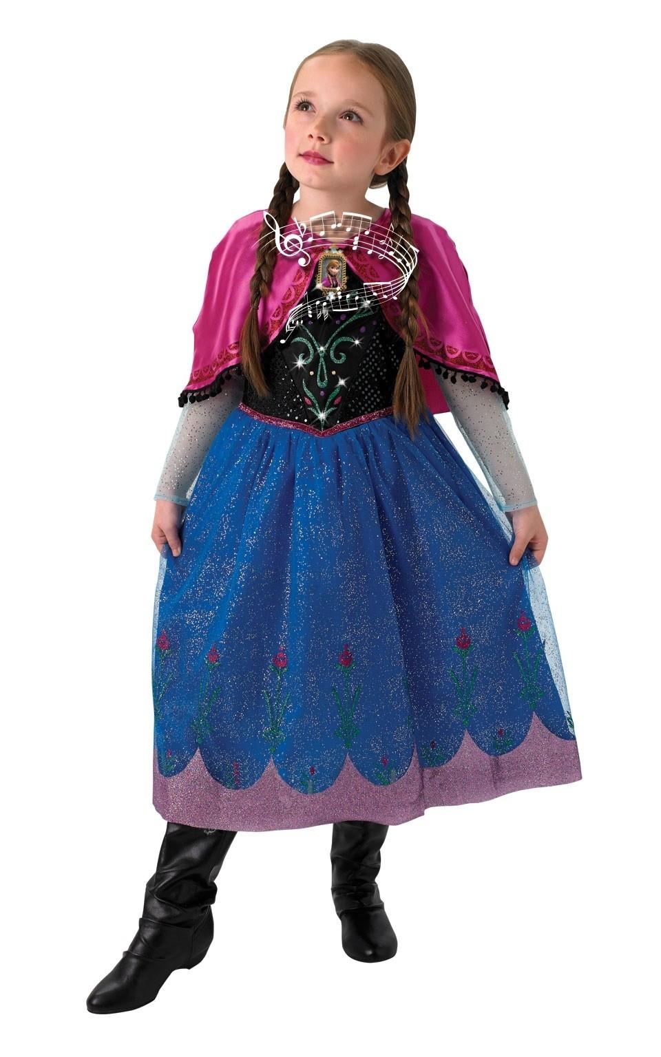 Музыкальный костюм Анны из Холодного Сердца (L) - Сказочные герои