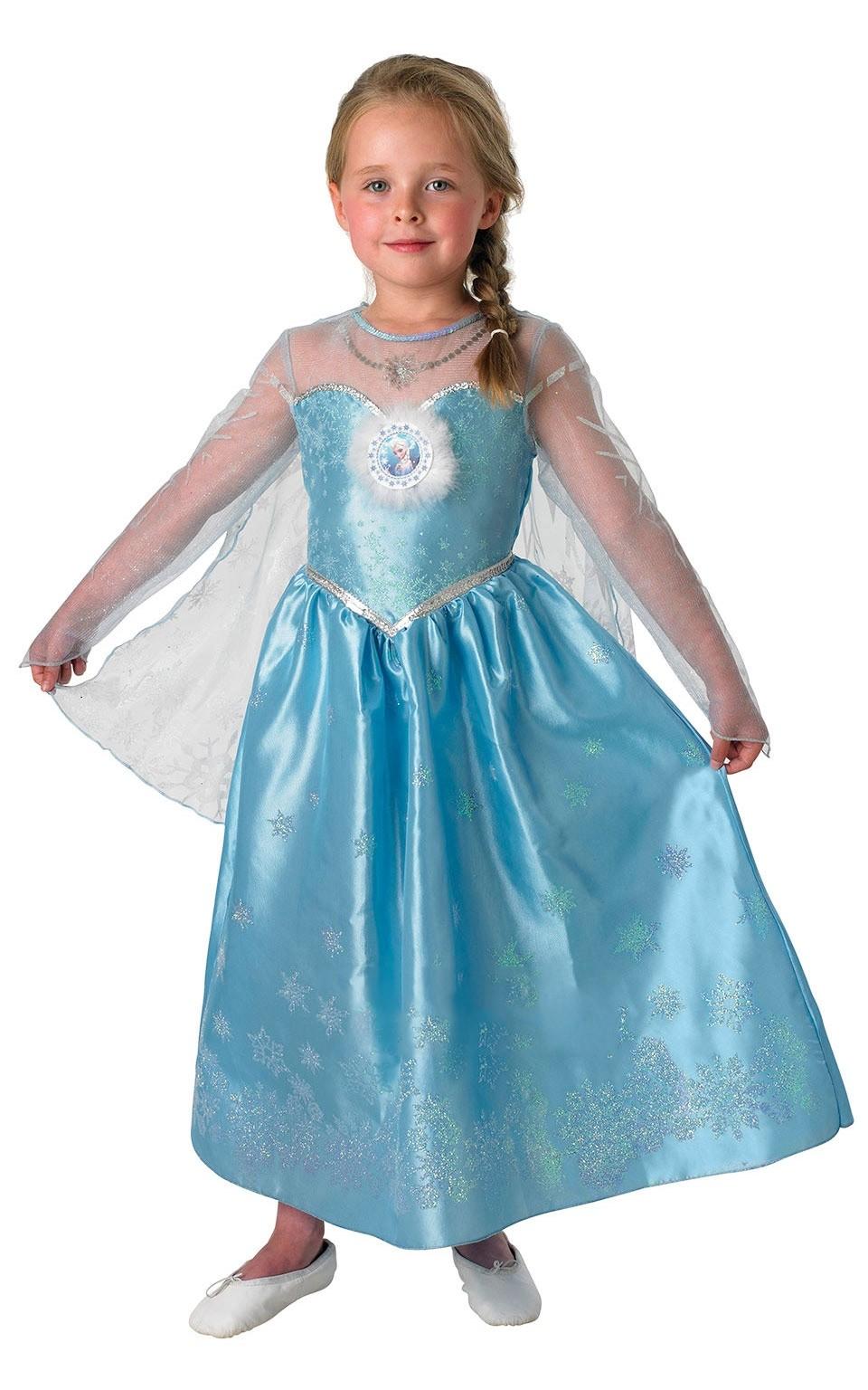 Платье Эльзы из Холодного Сердца (S)