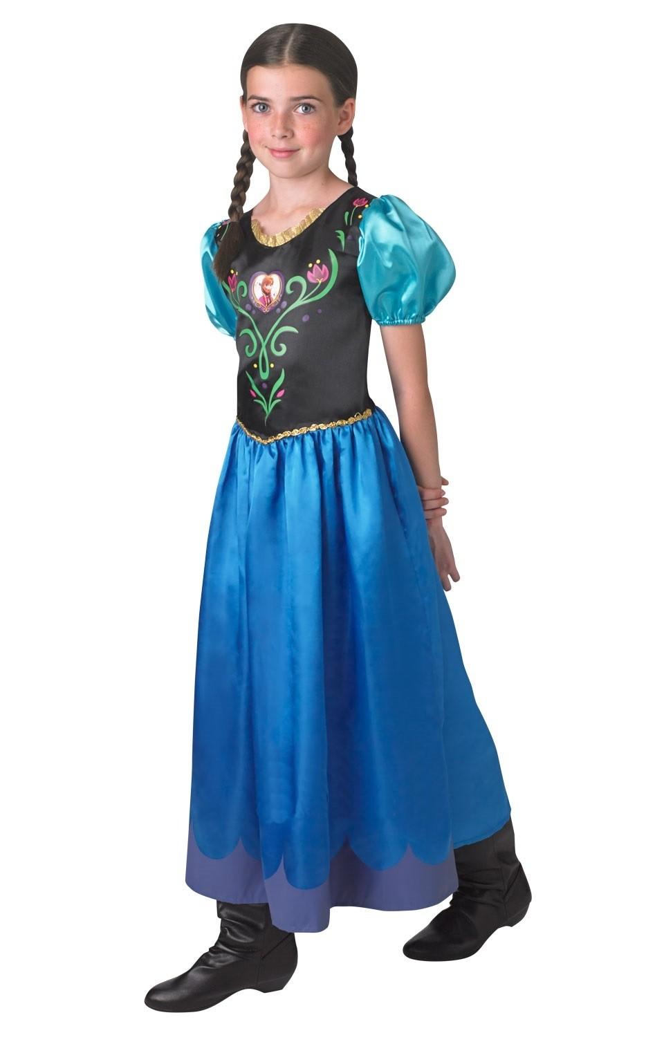 Классическое платье Анны из Холодного Сердца (44) - Сказочные герои, р.44