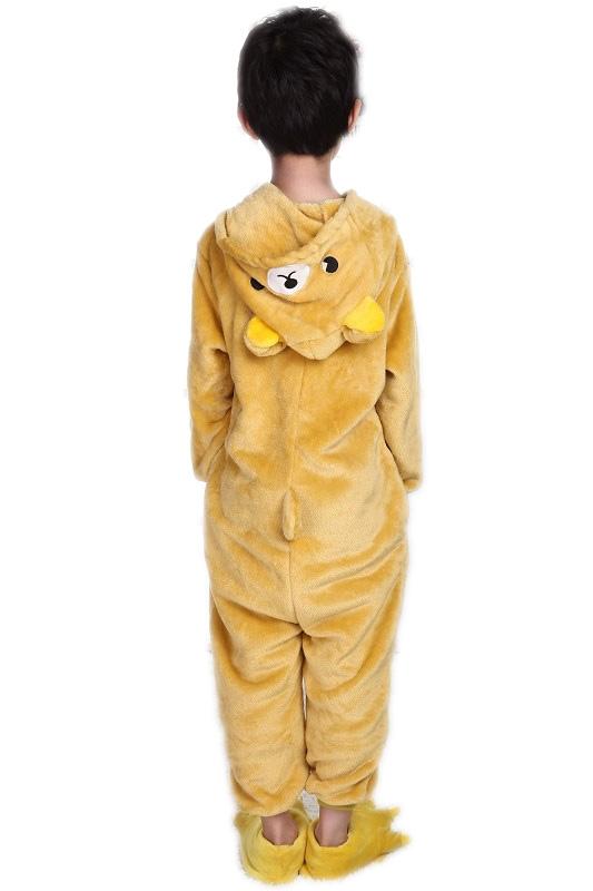 Детская пижама Кигуруми Мишка (28) детская пижама кигуруми хрюшка 26