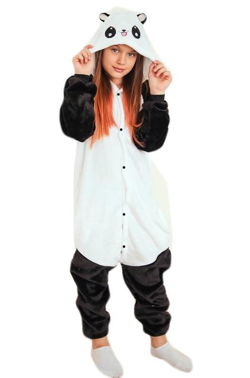 Детская пижама Кигуруми Панда (28) позиционеры для сна candide позиционер с подголовником воздухопроницаемая панда air с валиком