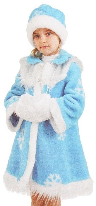 Классический детский костюм Снегурочки (34) купить шубу в греции по интернету