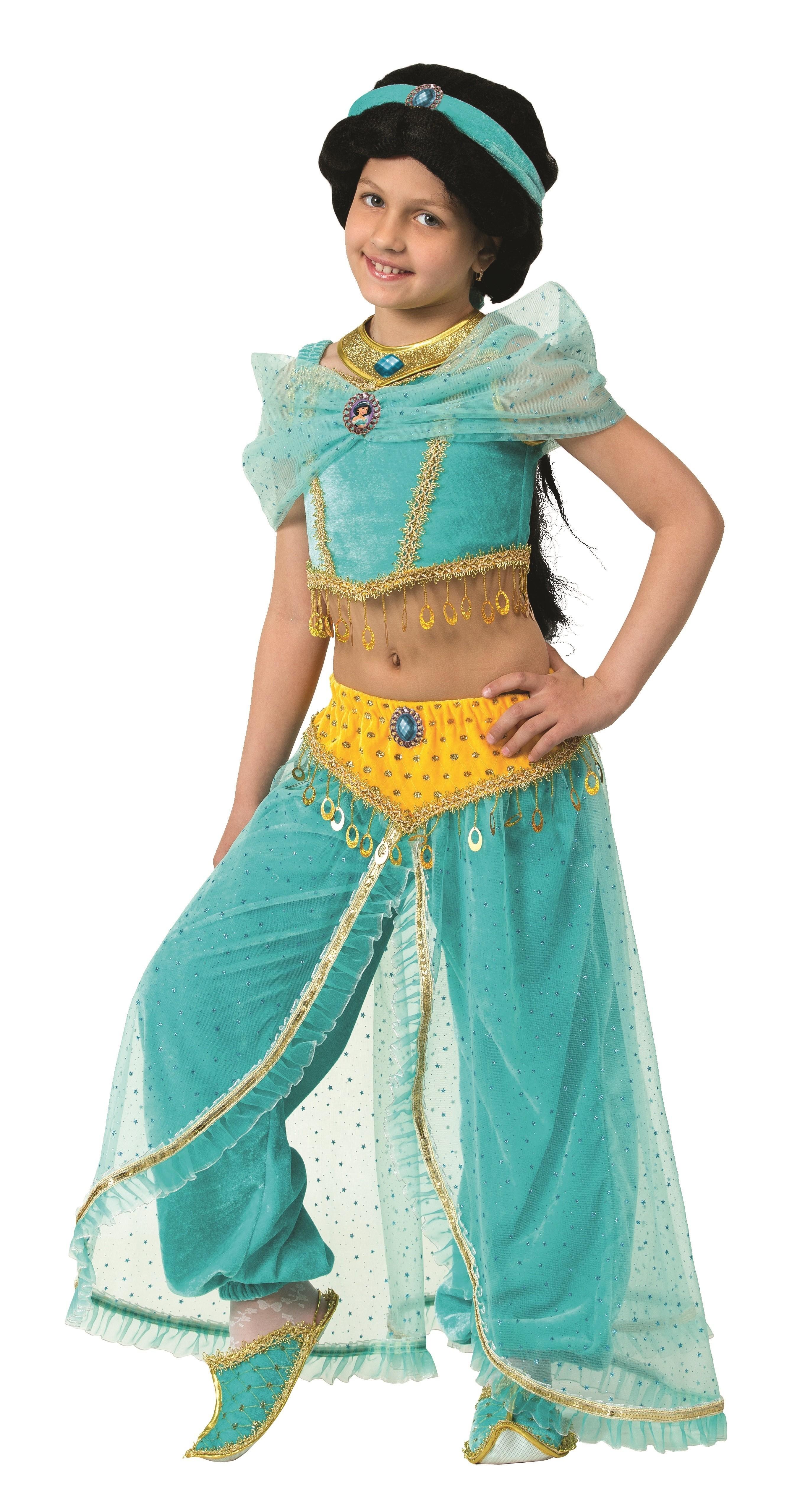 Костюм принцессы Жасмин (34) детский костюм принцессы авроры 34