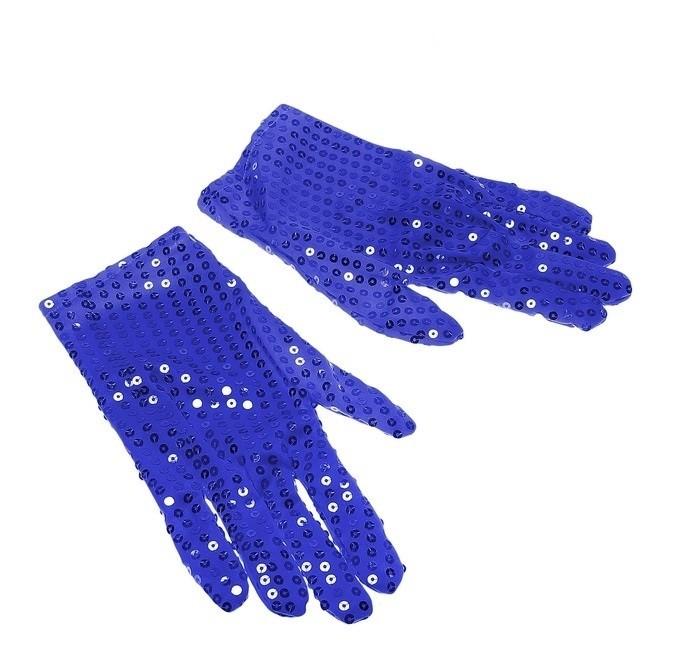 Синие блестящие перчатки (UNI) уровень stabila тип 80аm 200 см 16070