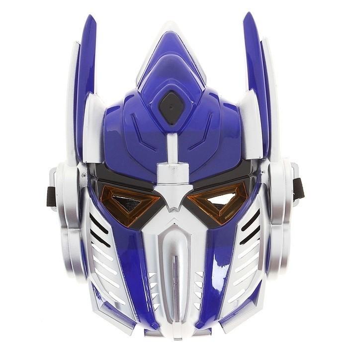 Синяя маска трансформера от Vkostume