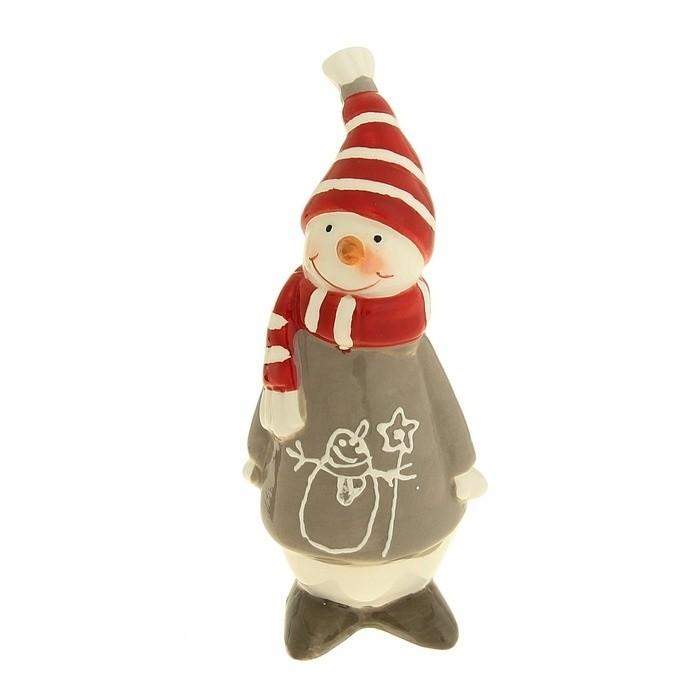 Новогодний сувенир Снеговик - Аксессуары на карнавал