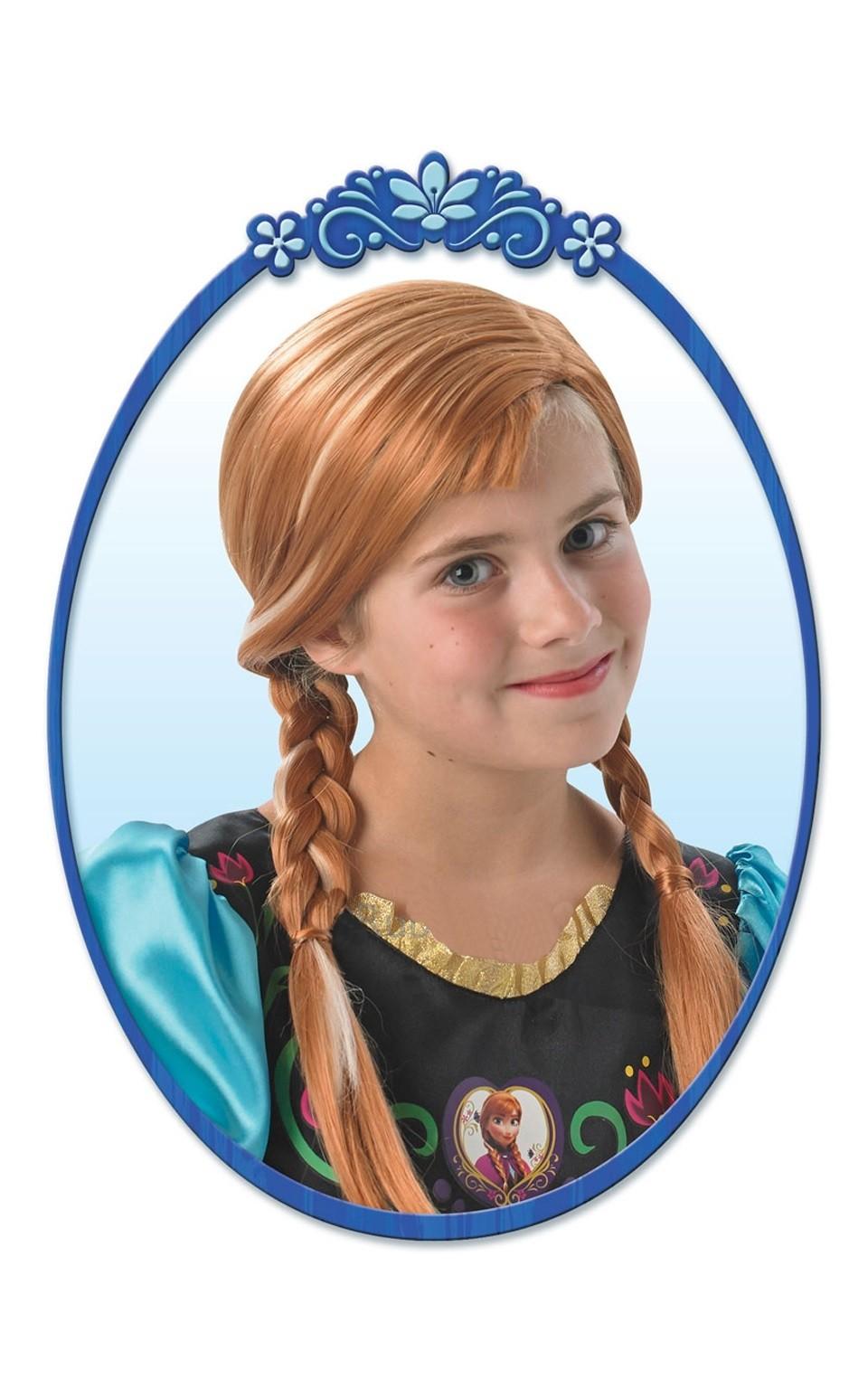 Парик Анны из Холодного Сердца парик для волос