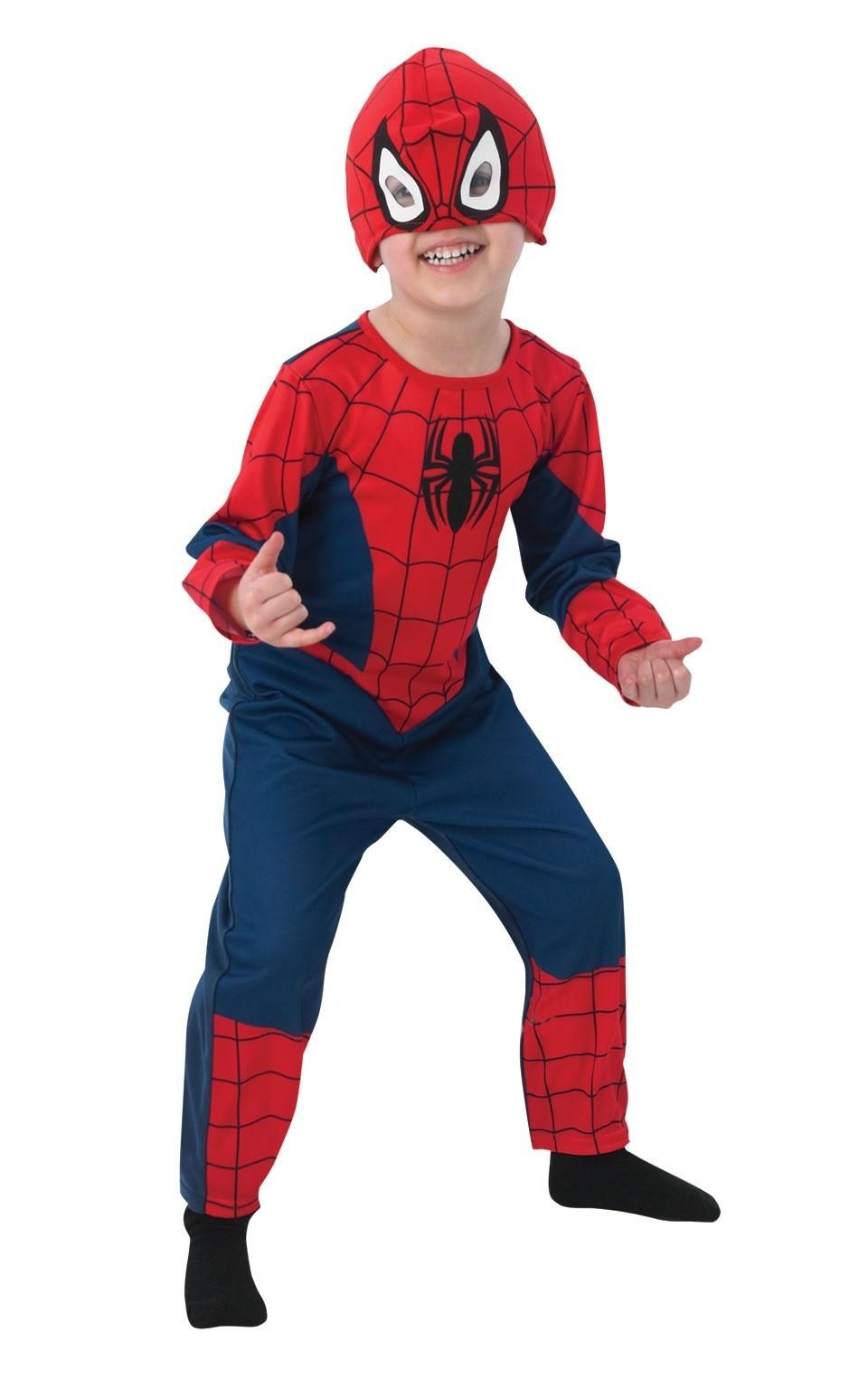 Детский классический костюм Спайдермена (M)