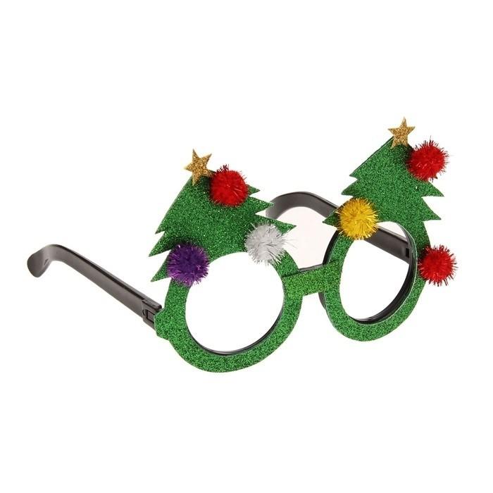 Новогодние очки Елочка - Очки