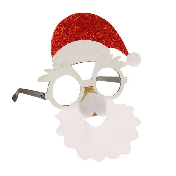 Новогодние очки Дедушка Мороз ольга яралек прости дедушка мороз