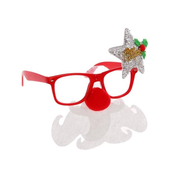 Новогодние очки со звездой очки со встроиным монитором и наушниками купить
