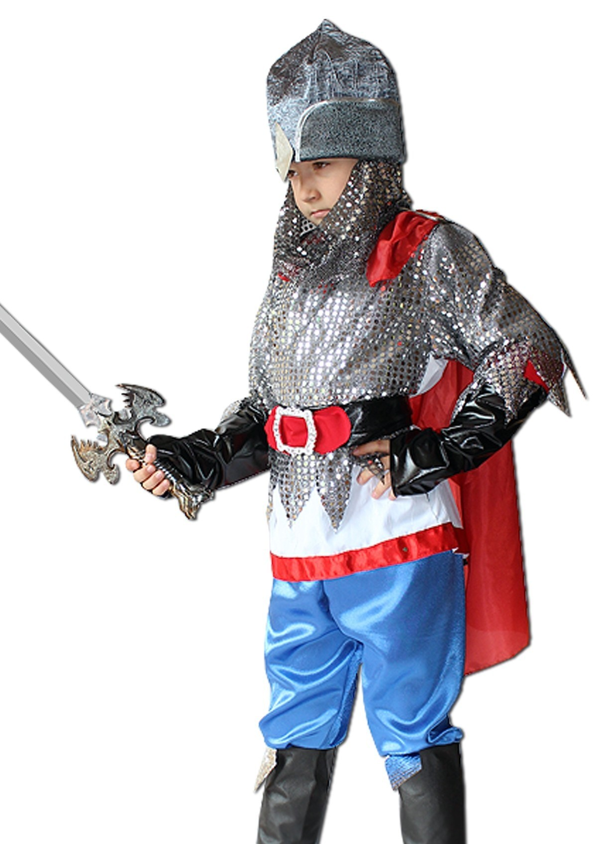 Детский костюм Ильи Муромца (28-30) детский костюм дарт мола 28 30