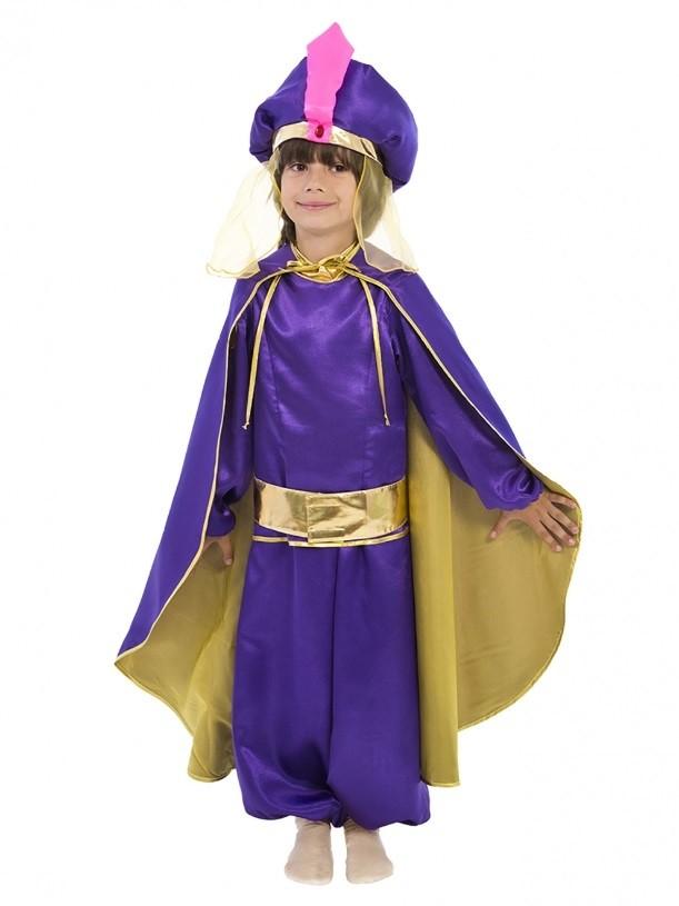 Детский костюм Восточного принца (30) костюм принца в сиреневом