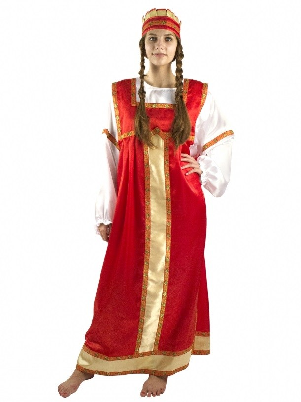 Женский костюм Аленушки (44-46) костюм шерифа женский 44