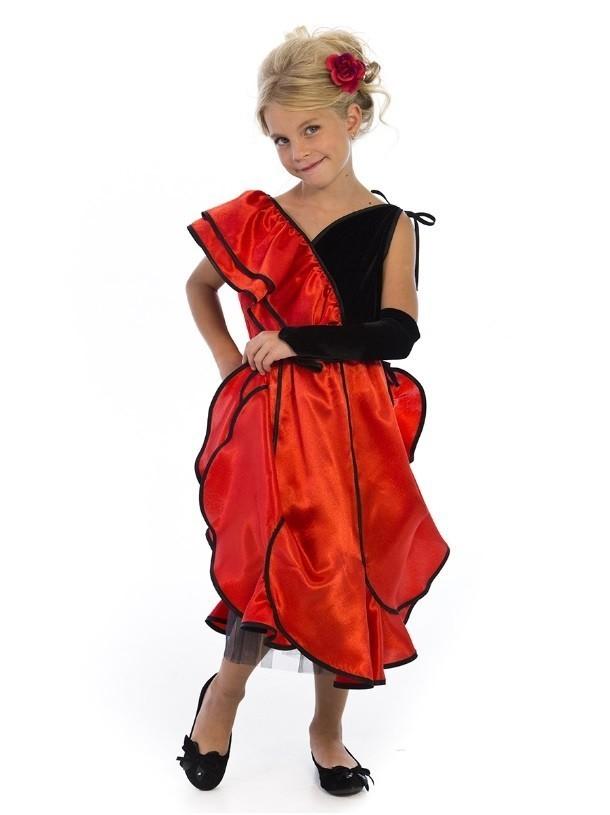 Детский костюм Испанской танцовщицы (30) от Vkostume