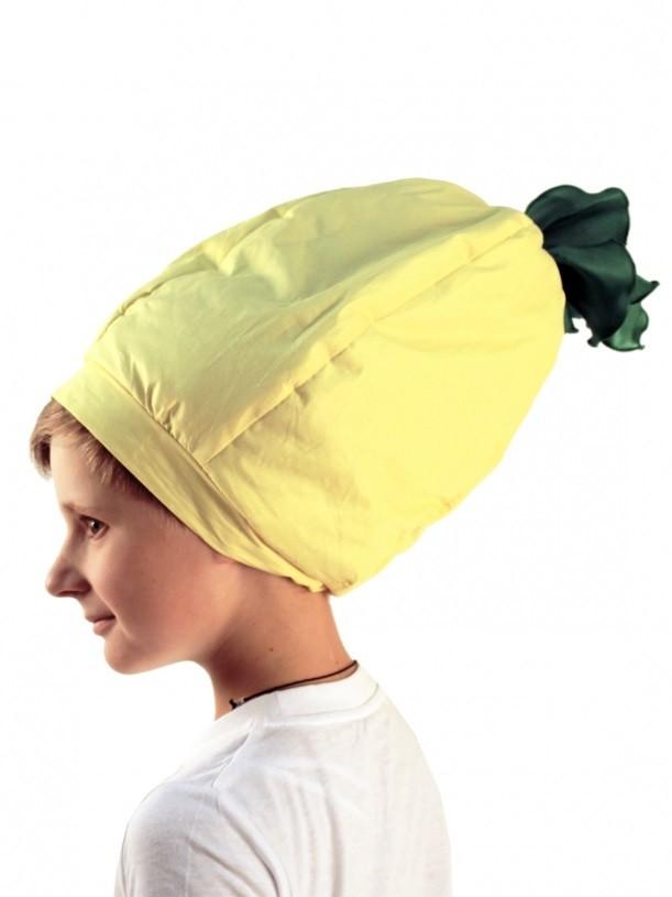 Шапочка Лимон (44) - Шляпы карнавальные, р.44