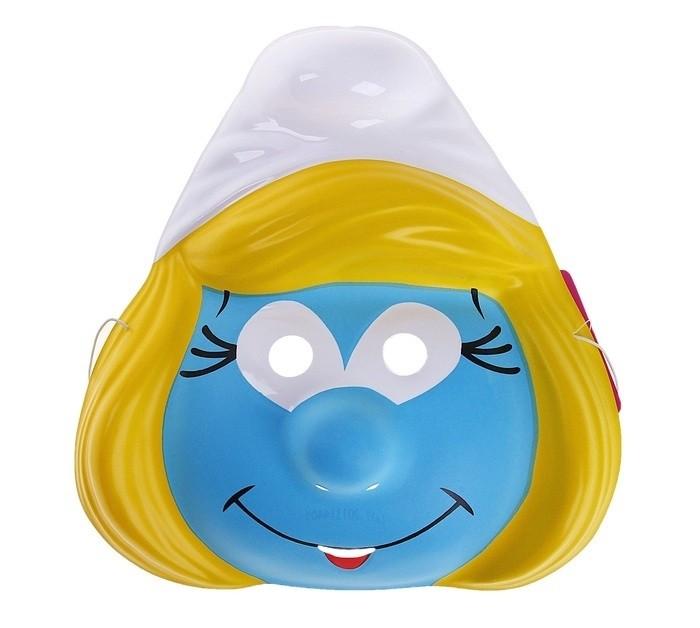 Маска Смурфетты (UNI) плюшевая маска зайки uni