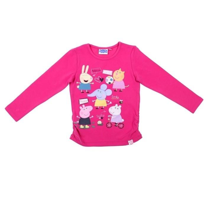 Ярко-розовая футболка Свинка Пеппа (30) - Сказочные герои, р.30