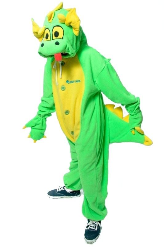 Кигуруми Зеленый дракон (S) - Сказочные герои
