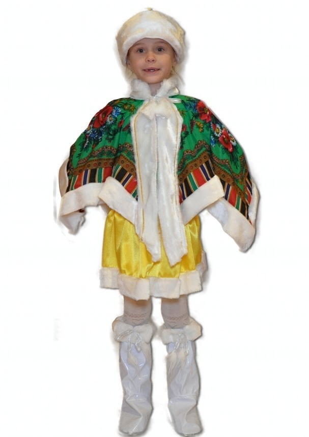Детский костюм Сударыни (26) детский костюм озорного клоуна 34