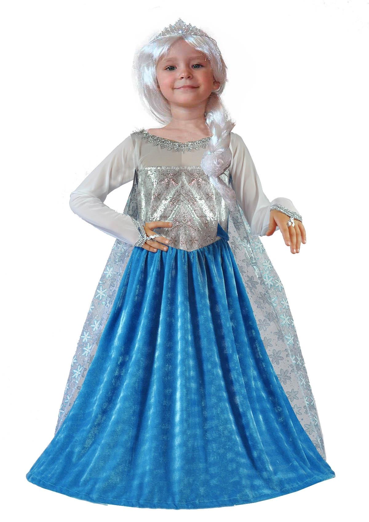 Детский костюм Эльзы из Холодного Сердца (30)