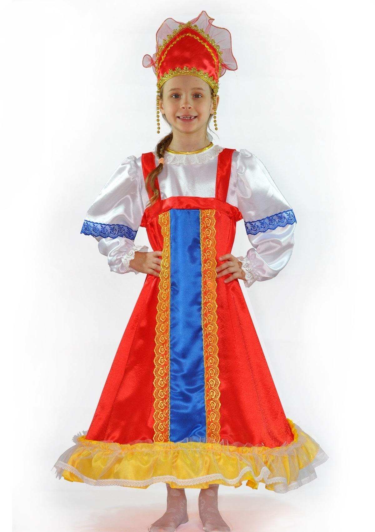 Русский наряд для девочек (26) туфли для народных танцев для девочек